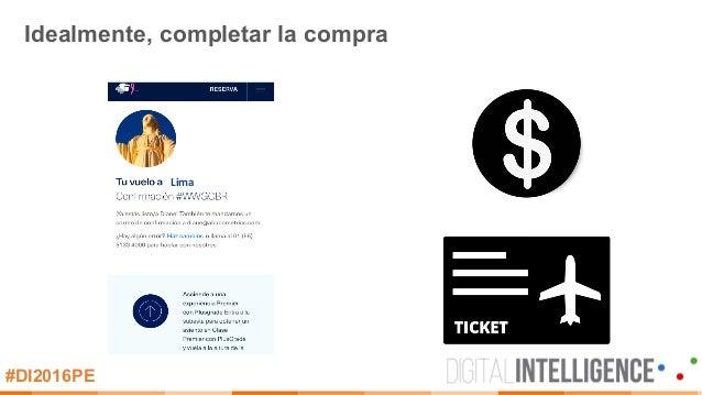 #DI2016PE Idealmente, completar la compra Lima