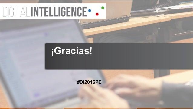 #DI2016PE ¡Gracias!