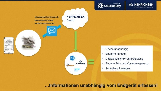 …Informationen unabhängig vom Endgerät erfassen!• Device unabhängig• SharePoint ready• Direkte Workflow Unterstützung• Eno...
