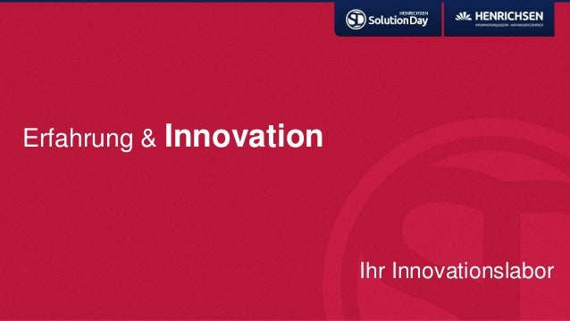 Erfahrung & InnovationIhr Innovationslabor