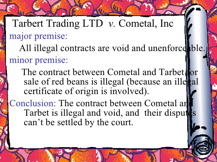 difference between void and illegal contracts Physical duress when the improper threat takes the form of physical compulsion , the resulting contract is void8 a good-faith purchaser does not take valid title.