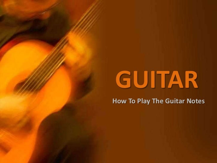 how to know which strings to play on the guitar