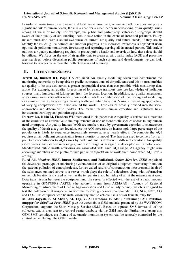 literature review about air pollution essay History of research paper literature review buy a research paper  writing a   syllabus nursing report sheet med surg  essay on air pollution report social.