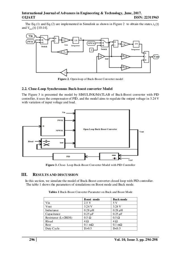 a low voltage dynamic synchronous dc dc buck boost converter four swi\u2026System Design Lab Regulation Characteristics Of Buckboost Converter #3
