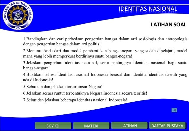 Materi Identitas Nasional