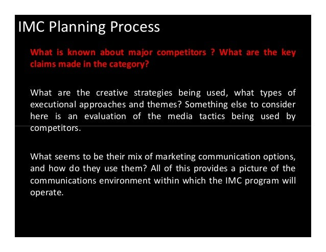 imc planning process in samsung Samsung imc analysis  (imc) for the past 6 years • samsung has started a new ad trend with the zero  a report on integrated marketing communication plan for .