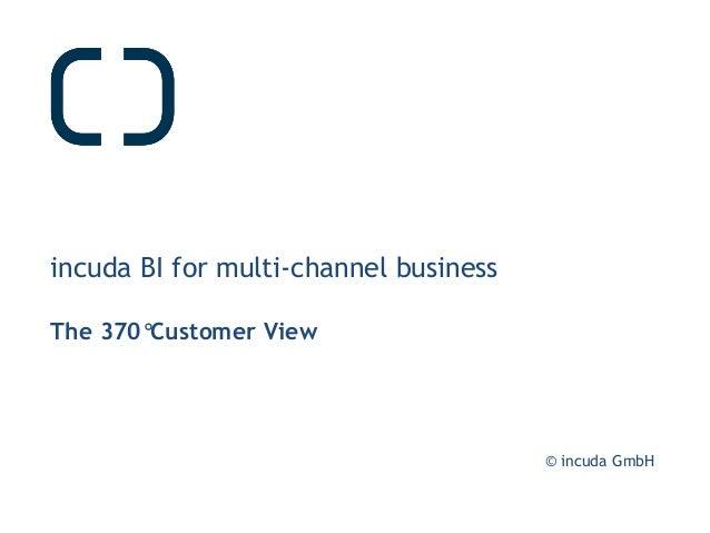 © incuda GmbH incuda BI for multi-channel business The 370°Customer View