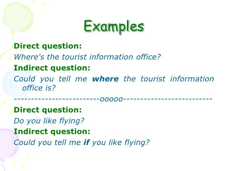 indirect questions from wh questions pdf