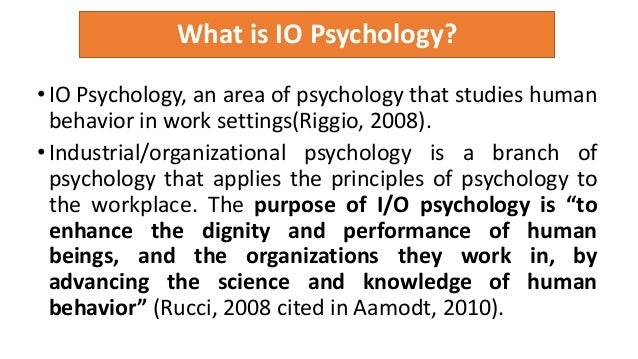 issues in industrial psychology The path to success in industrial organizational psychology is steeped in education though some schools offer a bachelor's in i-o psychology, the minimum recommended degree to enter the field is a master's.