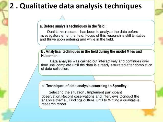 Initial analysis of data metpen