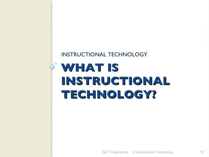 2 Instructional Technology