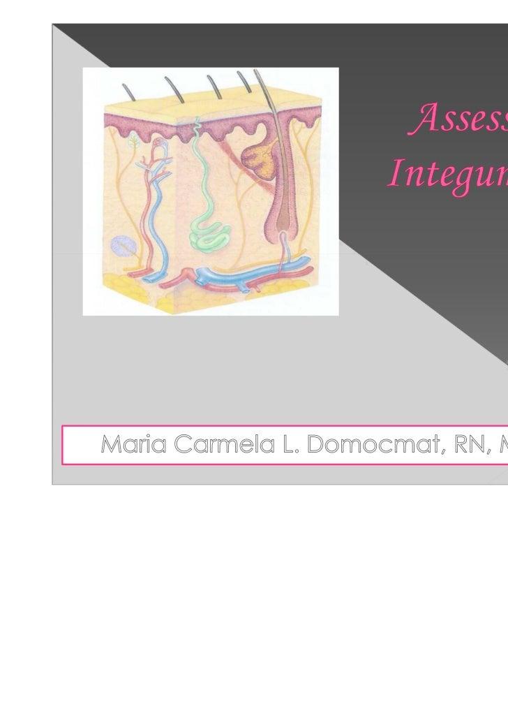 THE SKINMaria Carmela L. Domocmat, RN, MSN