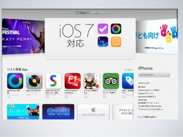 既存アプリのiOS 7対応   iOS 7エンジニア勉強会 Slide 3
