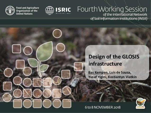 Design of the GLOSIS infrastructure Bas Kempen, Luis de Sousa, Yusuf Yigini, Kostiantyn Viatkin