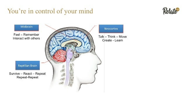 You're in control of your mind