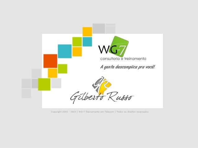 Palestrante          Gilberto Russo           Atuante no setor de Telecom Celular desde o início das operações no         ...