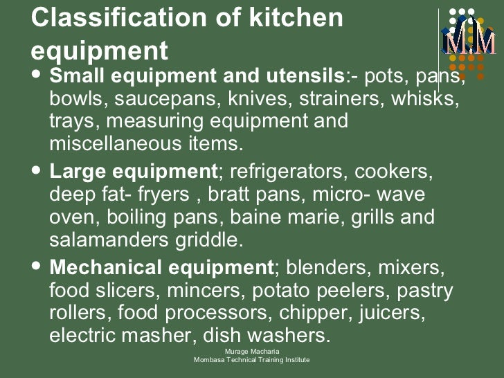 Kitchen Tools And Equipment With Meaning kitchen equipment