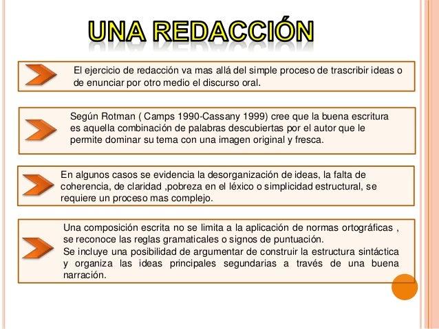 Redaccion De Un Texto