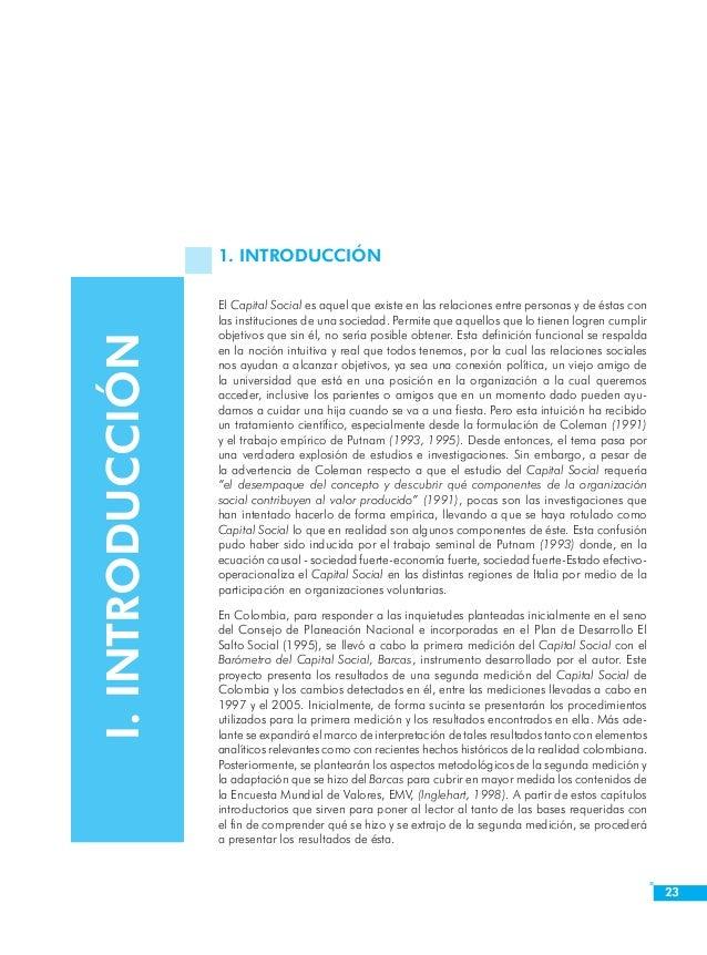 Introducción  25  5. Jerarquía o Articulación Vertical. La vinculación con organizaciones que articulan verticalmente la s...