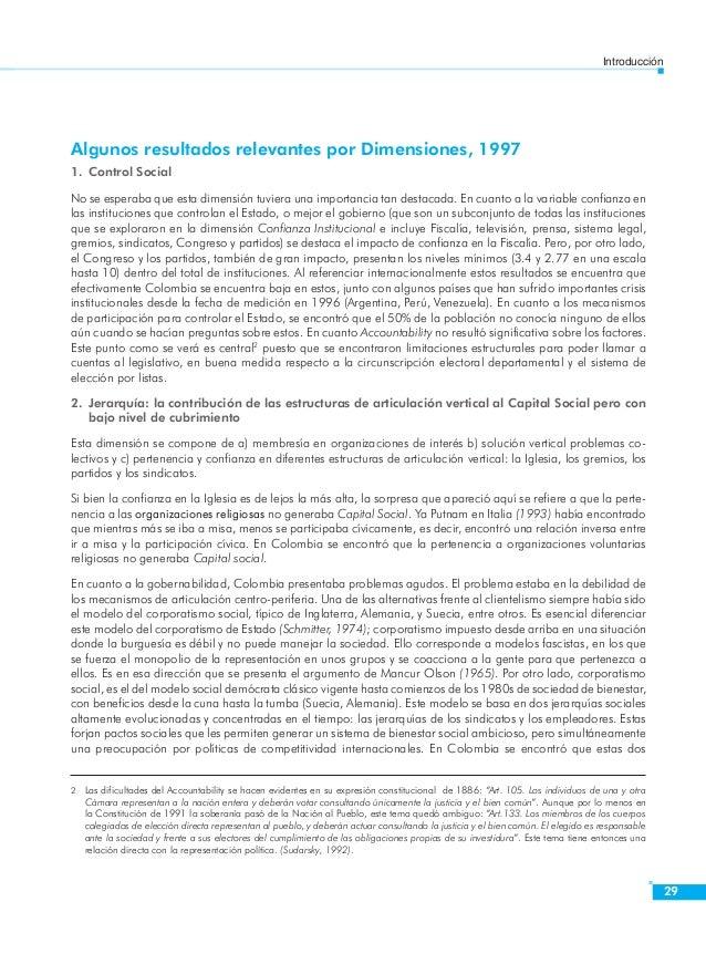 Introducción  31  6. Participación Política  De las variables que conforman la dimensión la de mayor impacto son las habil...