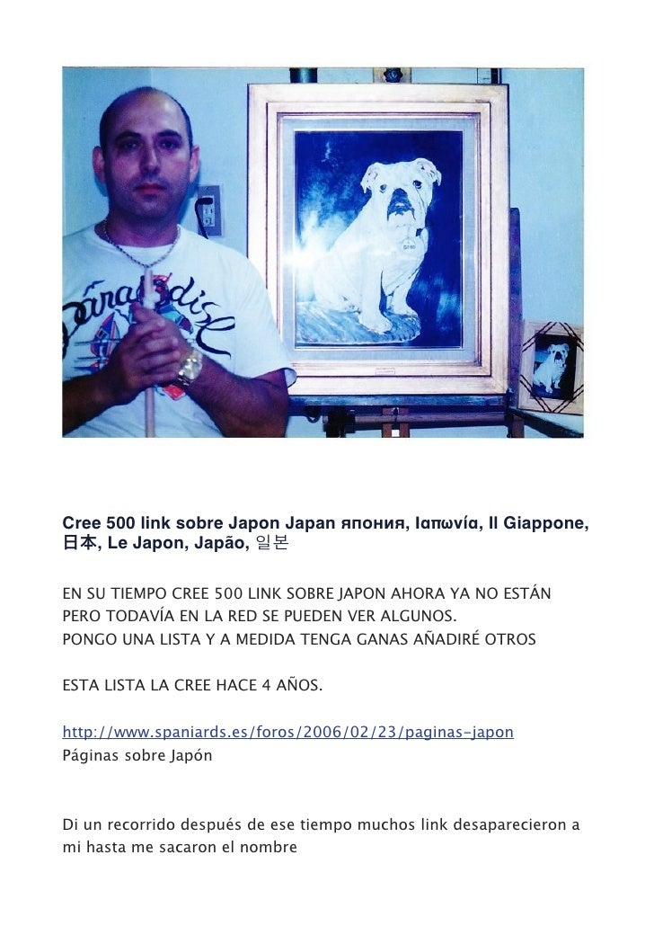 Cree 500 link sobre Japon Japan япония, Ιαπωνία, Il Giappone,    , Le Japon, Japão,EN SU TIEMPO CREE 500 LINK SOBRE JAPON ...