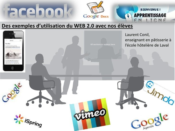 Des exemples d'utilisation du WEB 2.0 avec nos élèves                                                                 Laur...