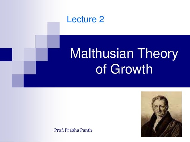 the malthusian model Breakdown of the malthusian model malthus predicts high population growth  when output t no longer valid today, population growth negative.