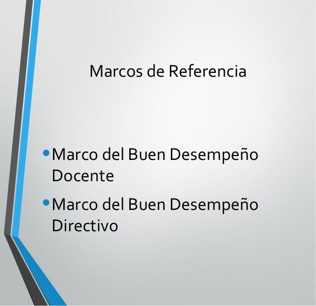 Introducción al Marco del Buen Desempeño Docente (Perú) Julio César Mendoza Francia