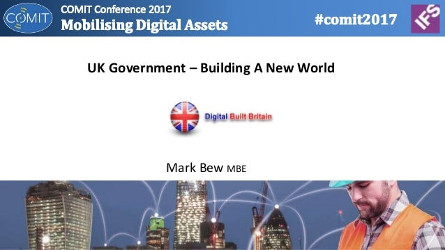 Mark Bew MBE UK Government – Building A New World