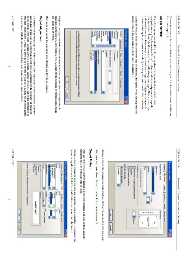 FSJES-AGADIR                Semestre3 (Licence Economie et Gestion)                                   FSJES-AGADIR        ...