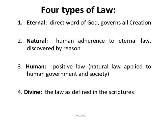 natural law vs positive law