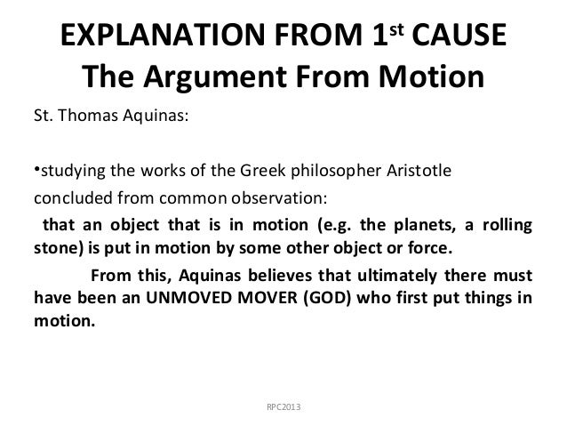 explanation of gods existence in the ontological argument by st anselm and the five ways by thomas a An ontological argument is a philosophical argument for the existence of god that uses ontologymany arguments fall under the category of the ontological, and they tend to involve arguments about the state of being or existing more specifically, ontological arguments tend to start with an a priori theory about the organization of the universe if that organizational structure is true, the.