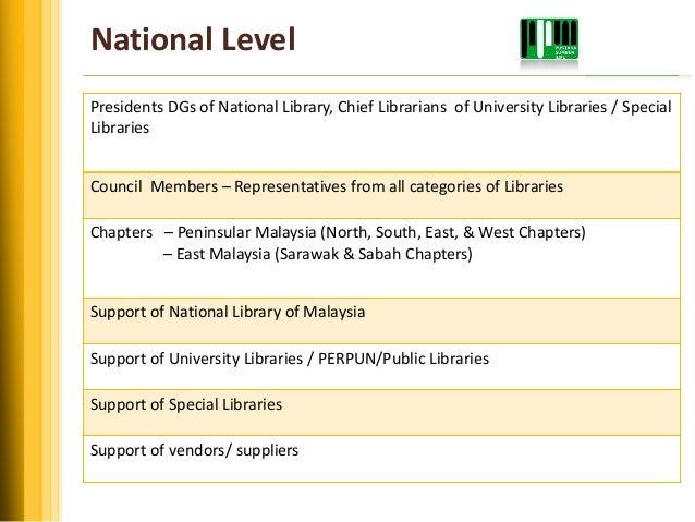 Peranan persatuan pustakawan malaysiappm dalam memperkasakan pustak putrajaya 22 national level ccuart Choice Image
