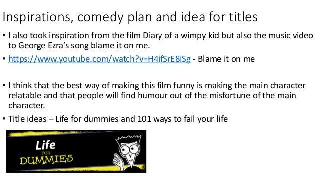 2 minute film intro idea
