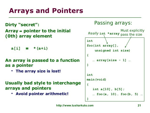 C ARRAYS AND POINTERS EPUB DOWNLOAD