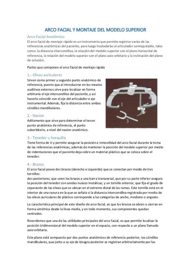 2 Oclusión-Montaje del modelo maxilar