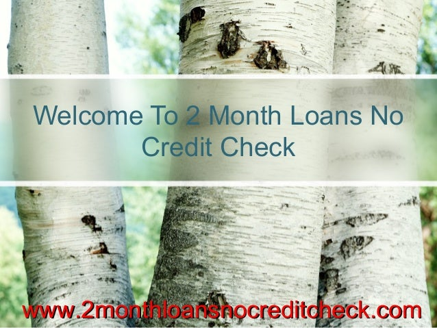 Small Loans No Credit Check with no trouble availed ...