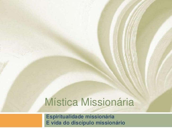 Mística Missionária - Diocese de Guarulhos Slide 1