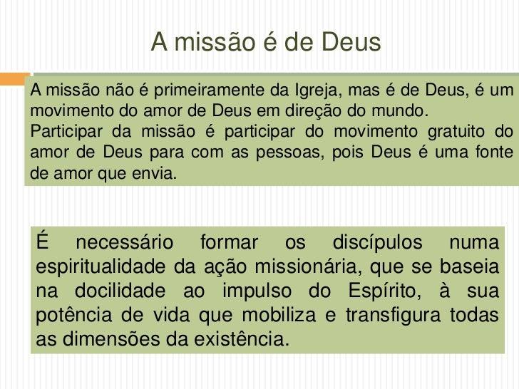 Mística Missionária - Diocese de Guarulhos Slide 22