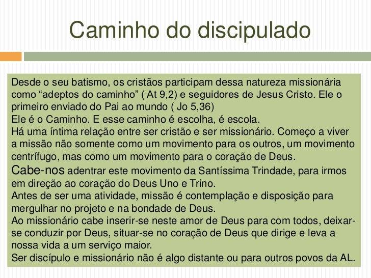 Mística Missionária - Diocese de Guarulhos Slide 3