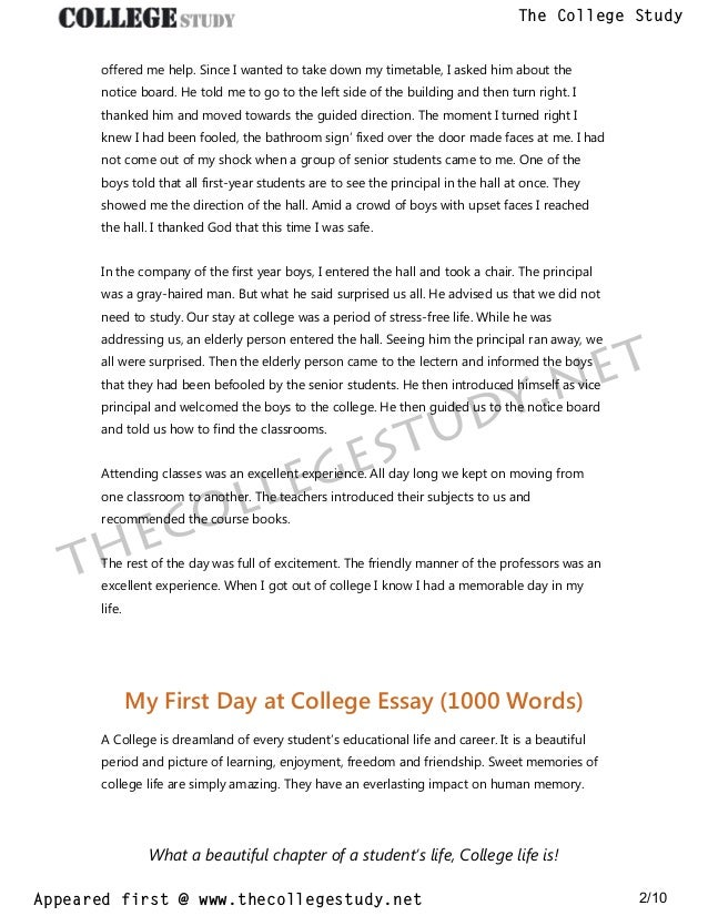 An Essay On Newspaper  Comparative Essay Thesis Statement also High School Essay  My First Day At College Short And Long Essays The College  Ap English Essays
