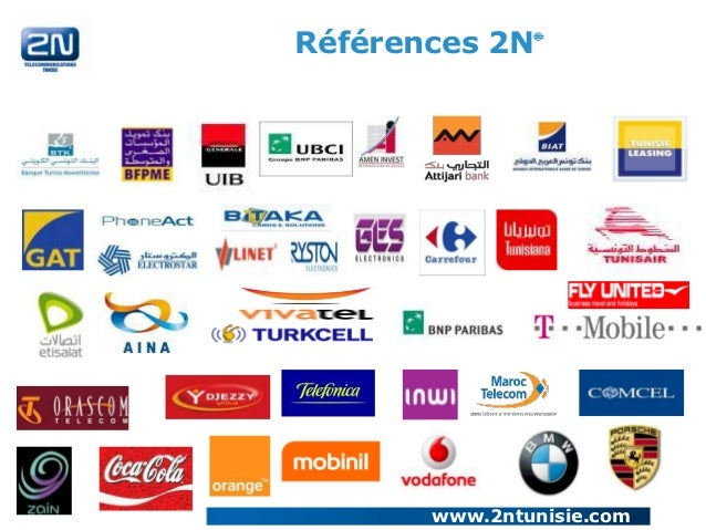 Références 2N   ®       www.2ntunisie.com