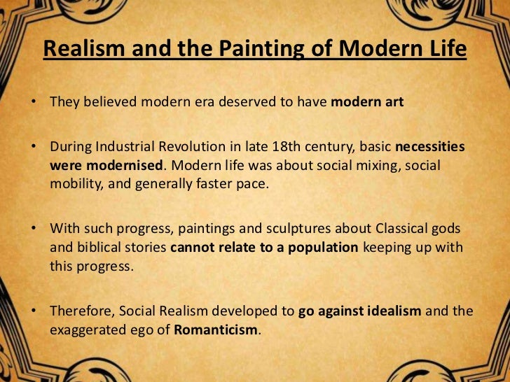 realism impressionism Realism-impressionism paintings realism-impressionism is a classification of style for artists that painted in both styles or used elements of both realism and.