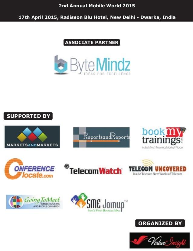 2nd annual mobile world 2015 Slide 2