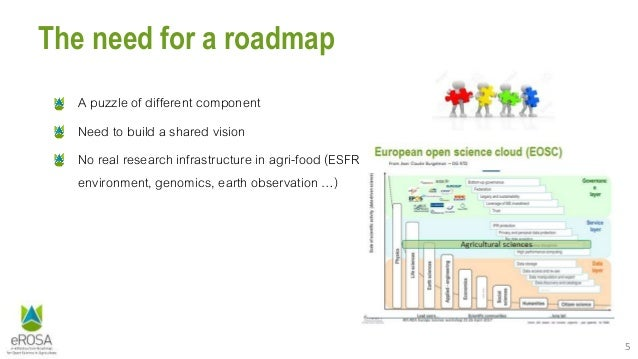 5 The need for a roadmap A puzzle of different component Need to build a shared vision No real research infrastructure in ...