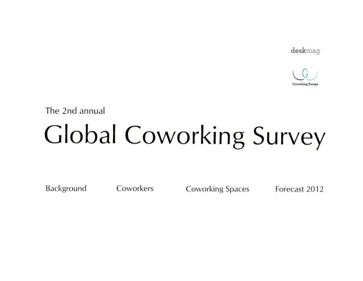 The 2nd Global Coworking Survey