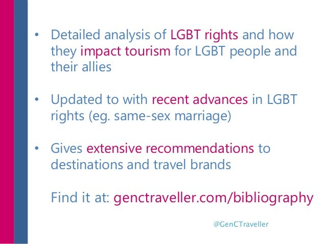 • Detailed analysis of LGBT rights and how they impact tourism for LGBT people and their allies • Updated to with recent a...