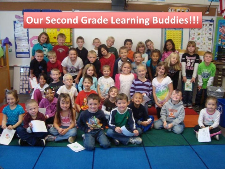 Our Second Grade Learning Buddies!!!