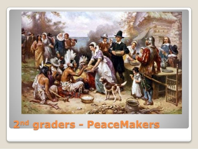2nd graders - PeaceMakers
