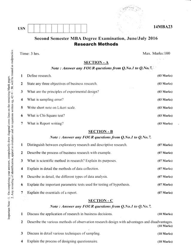 Mba research papers